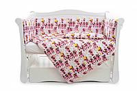 Бампер для детской кроватки Twins Comfort line C-054 Балеринки