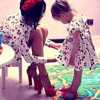 Пошив платьев Мама и дочка