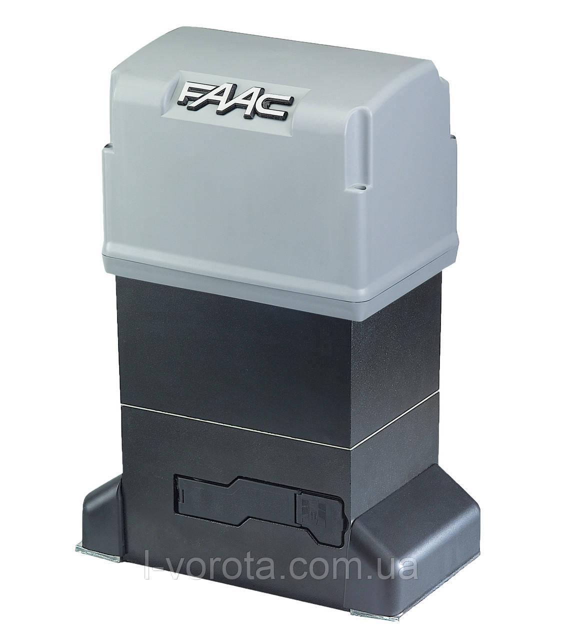 FAAC 844R 3PH  промышленный привод для откатных (сдвижных) ворот (макс. вес ворот 2200 кг)