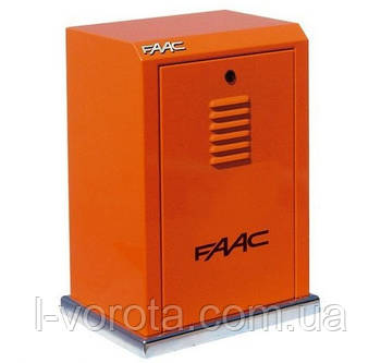 FAAC 884 MC 3PH промышленная автоматика для откатных (сдвижных) ворот (макс. вес ворот 3500 кг)