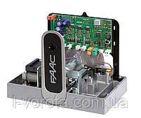 FAAC 721 скоростная автоматика для откатных (сдвижных) ворот (макс. вес ворот 800 кг), фото 2