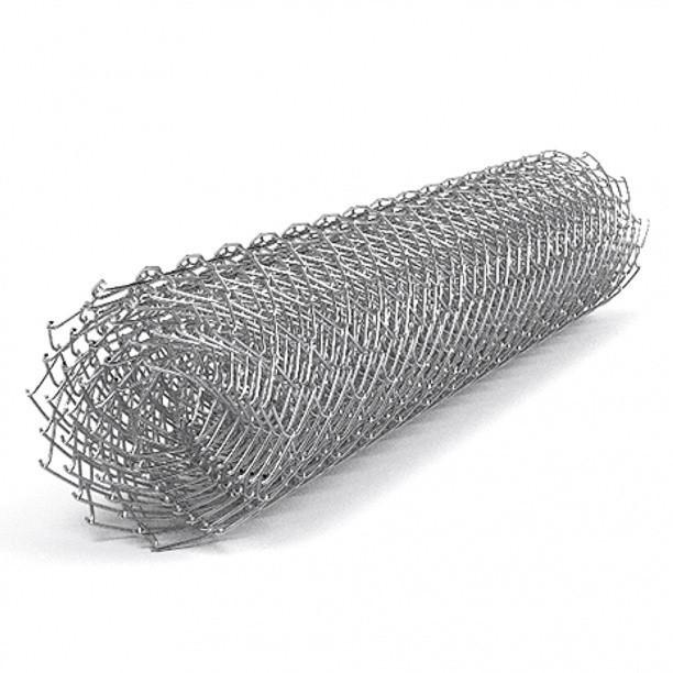Сетка рабица Сітка Захід высота 1,5м длина 10м ф2.5оц ячейка 50х50мм