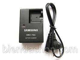 Зарядное устройство SBC-70A для камер SAMSUNG (аккумулятор BP70A, SLB-70A)
