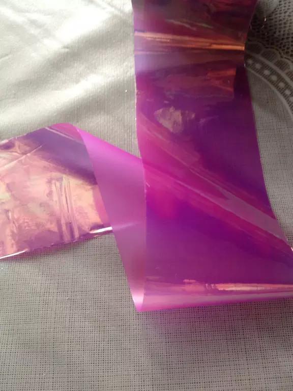 Битое стекло фиолетовое