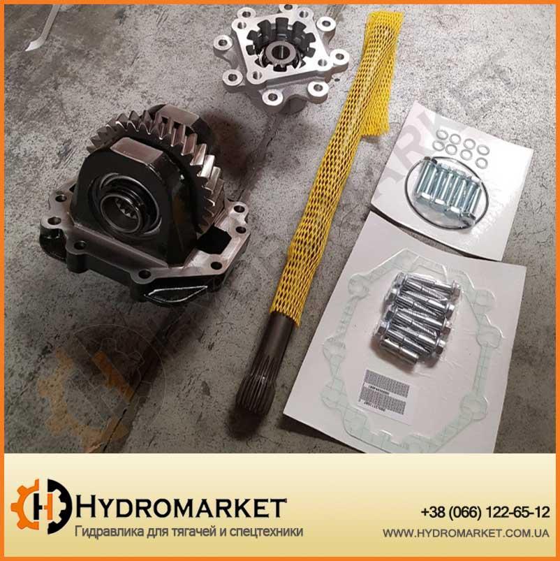 Коробка отбора мощности SCANIA GR-875, GRS-895 HYVA (L вала - 525 мм) 21411102