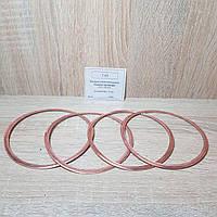 Кольцо гильзы цилиндра (прокладка) Газель,Волга дв. 402,ГАЗ 53 медное (комплект 4 шт) (пр-во Россия)