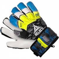 Перчатки вратарские SELECT 55 Extra Force Grip (335), син/сер/желт р.9
