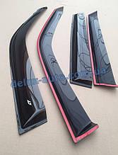 Ветровики Cobra Tuning на авто Lexus ES VI 2012 Дефлекторы окон Кобра для Лексус ЕС 6 с 2012
