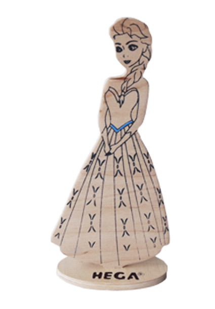 Лялька HEGA Єльза з декором