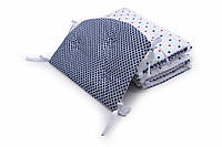Бампер для детской кроватки Twins Premium стеганый Маракеш