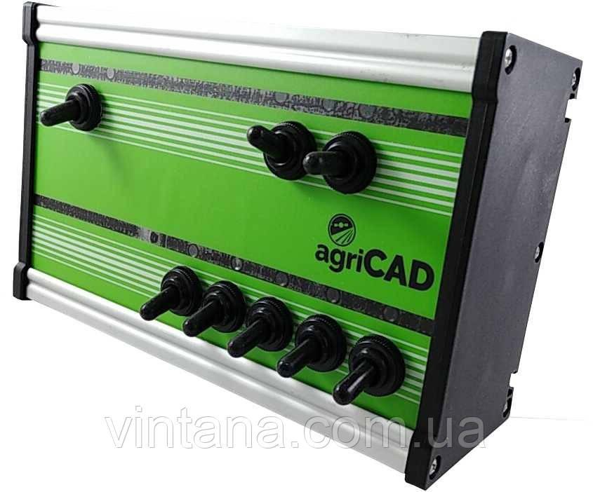 Электронный блок  ( на 5 секций)  agriCAD для управления секциями и контроля дозировки в системе опрыскивания