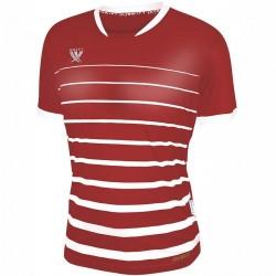 Футболка футбольная Swift FINT CoolTech (красно/белая)