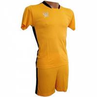 Футбольная форма детская Swift PRIORITET (желто-черный) 146 см