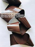 Фольга для кракелюра темно-коричневая матовая