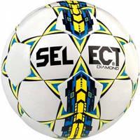 Мяч футбольный SELECT Diamond NEW бел/син, размер 4