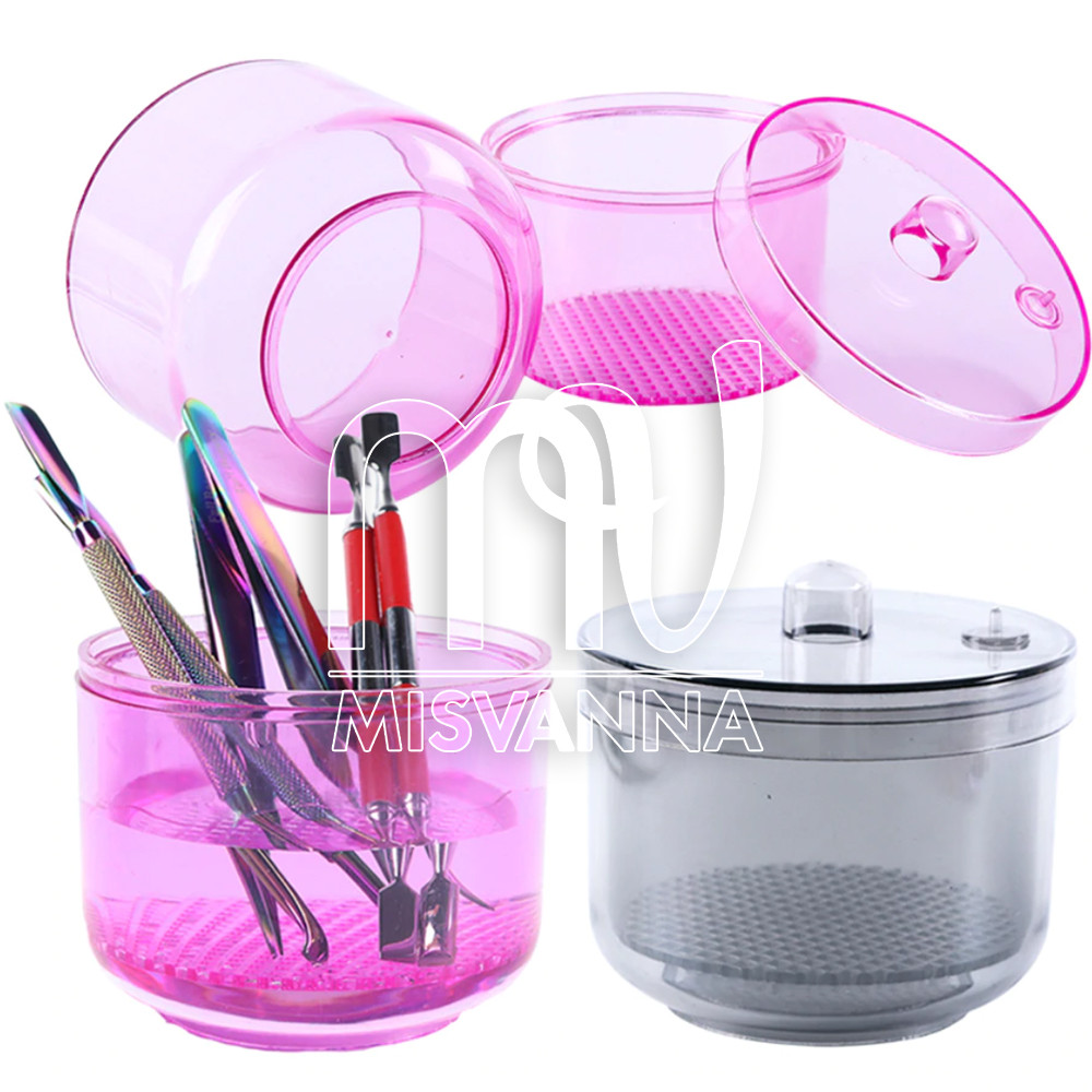 Стерилизатор-контейнер для замачивания и дезинфекции фрезерных насадок, MIX цветов
