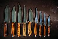 Набор ножей. Ножи для кухни. Ручная работа.