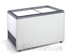 Морозильний лар Crystal Ektor 46 SGL (пряме скло)