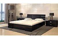 Двуспальная Кровать из Дуба от Производителя (Комфорт-9)
