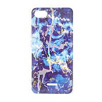 Чехол Xiaomi Redmi 6a SMTT Mramor Shine Blue