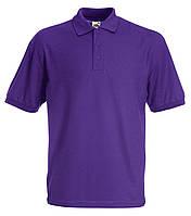 Поло футболка мужская однотонная 100% хлопок Футболки мужские однотонные