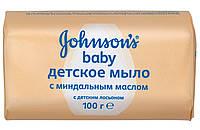 "Мило ""Johnson Baby"" 100 гр. з Маслом мигдалю"