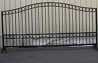 Металлический забор 3000х1500