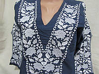 """Блуза на батисте """"Этно мотивы"""", 44, 46 р-ры 600/500 (цена за 1 шт. +100 гр.)"""