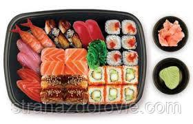 Сколько калорий в суши?