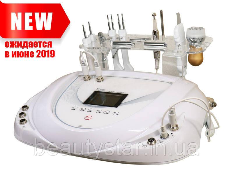 Современный косметологический аппарат с функцией электропорации, микротоки, уз скрабер 3-в-1 мод. 6003