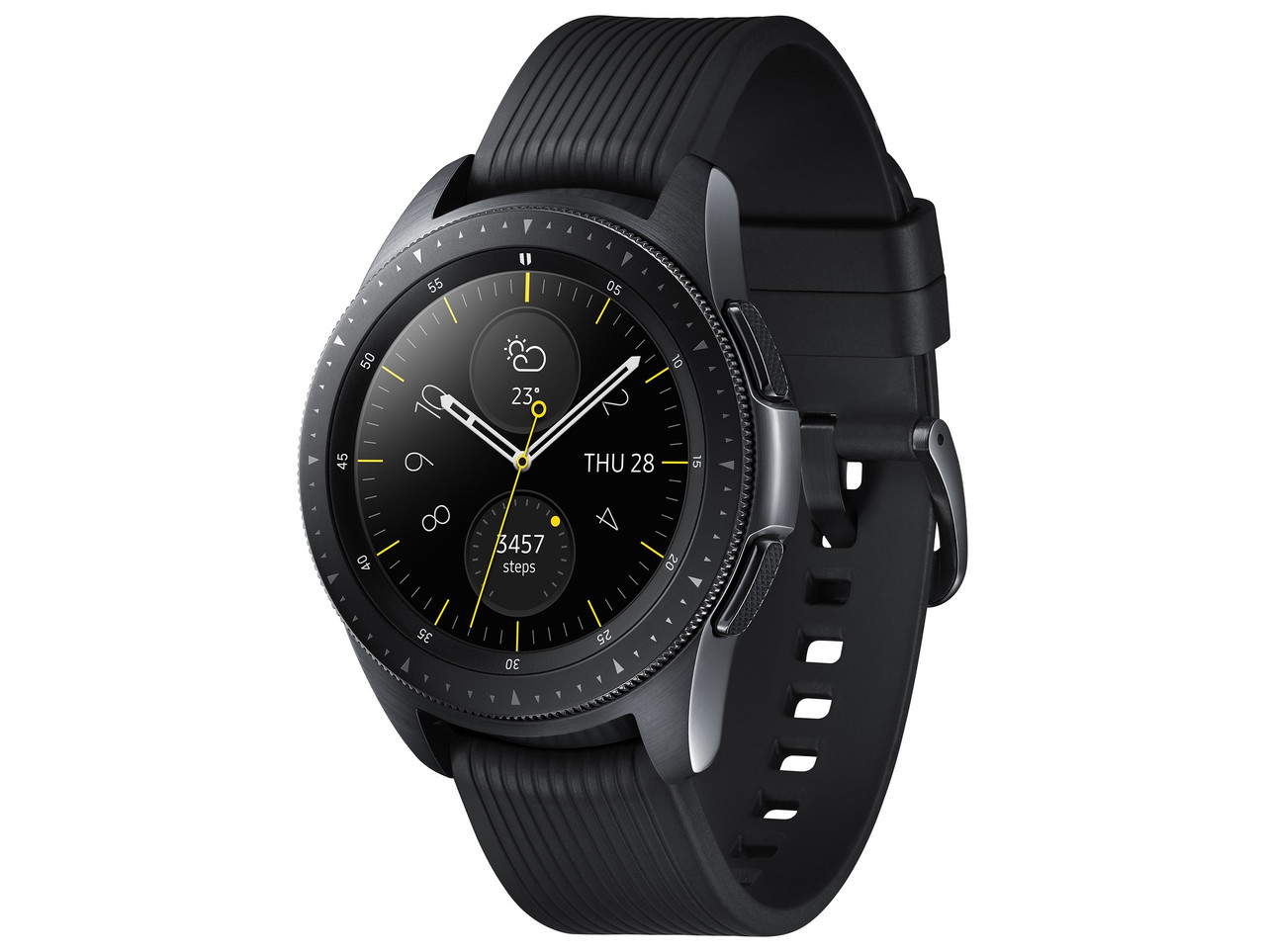 Смарт-годинник Samsung Galaxy Watch 42mm Midnight Black (SM-R810NZKA)