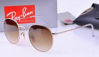 Женские солнцезащитные очки в стиле RAY BAN 3447 001/51 LUX, фото 1