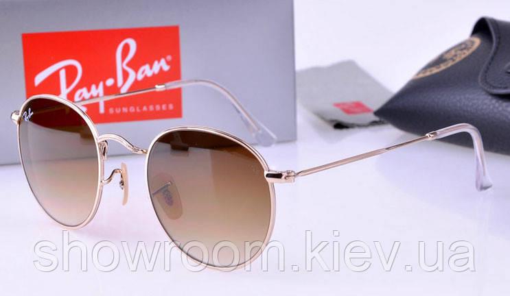 Женские солнцезащитные очки в стиле RAY BAN 3447 001/51 LUX