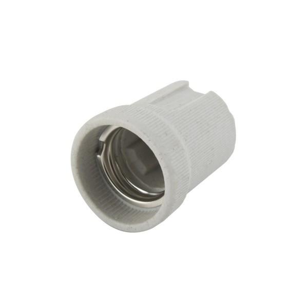 Патрон Е14 керамический белый