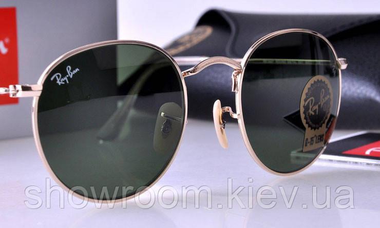 Мужские солнцезащитные очки в стиле RAY BAN 3447 001 LUX