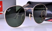Мужские солнцезащитные очки в стиле RAY BAN 3447 001 LUX, фото 1