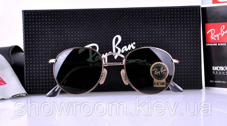 Женские солнцезащитные очки в стиле RAY BAN 3447 001 LUX