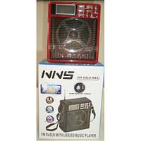 Радио-приёмник с led-фонарём NNS ns-082u, записывает на флэш-накопитель, считывает SD-карты, динамик 3Вт