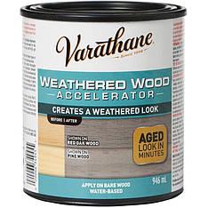Состав для искусственного старения древесины Varathane weathered wood accelerator 0.946л