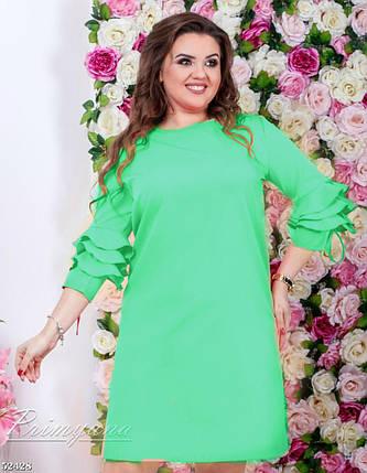 Великолепное женское платье ткань *Костюмная* 48 размер батал, фото 2
