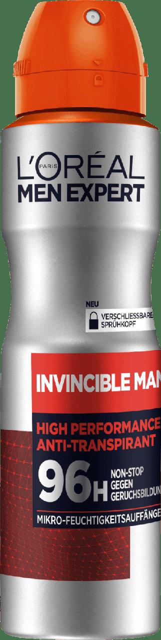 Дезодорант-спрей для мужчин L'ORÉAL Men Invincible Man, 150 мл.