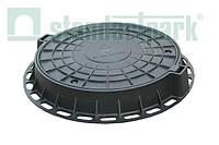 Люк пластиковый ГОСТ 3634-99 D800 (черный)