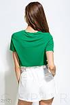 Яркая футболка с ананасом из пайеток зеленая, фото 3