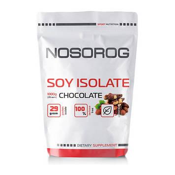 Протеин соевый изолят Носорог / Nosorog Nutrition Soy Isolate Protein 1 kg шоколад