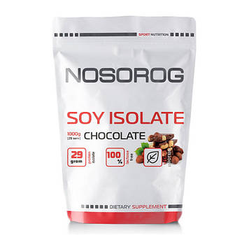 Протеин Soy Isolate NOSOROG 1 kg (chocolate) Носорог