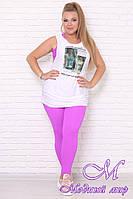 Женский спортивный костюм с лосинами большие размеры (р. 42-90) арт. Sport lux