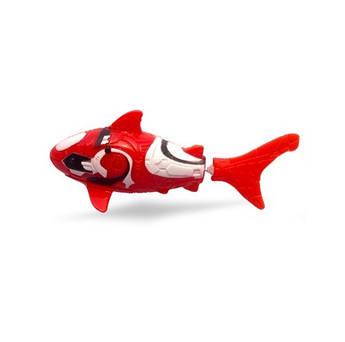 Интерактивная игрушка Robo fish Акула красная