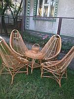 Набор плетеной мебели из четырмья креслами Ямайка