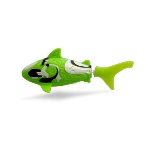 Интерактивная игрушка Robo fish Акула салатовая