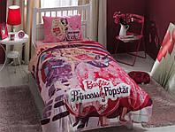 """Набор детского постельного белья TAC """"Барби Принцесса и Поп-звезда"""", фото 1"""
